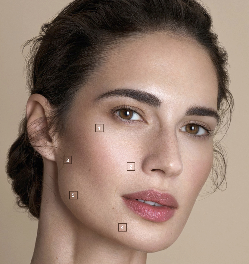 FACE INJECTION SITES ab2